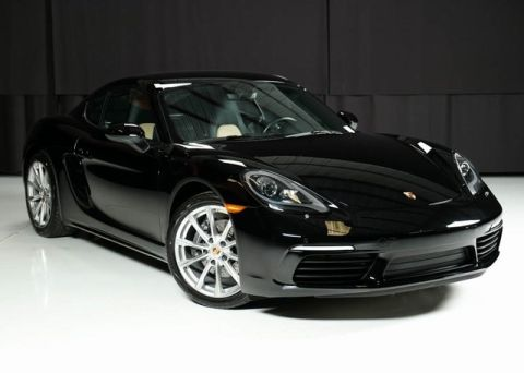 Certified Pre-Owned 2018 Porsche 718 Cayman