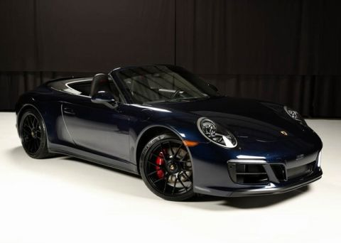 Certified Pre-Owned 2018 Porsche 911 Carrera GTS Cabriolet